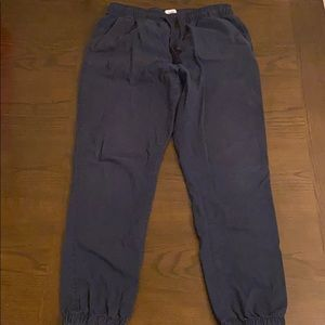 Old Navy Navy Cotton Jogger Pants
